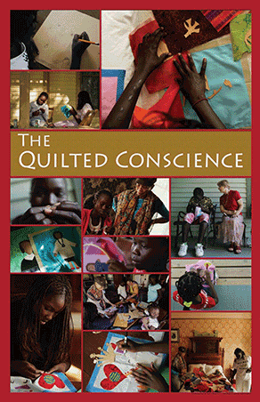 The Quilted Conscience partners with public schools to create story-quilts of immigrant children.