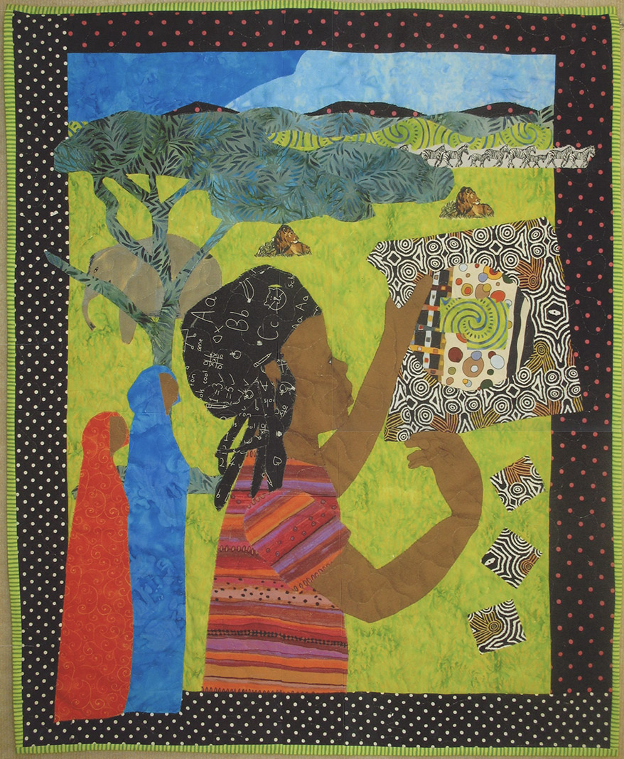 Africa on the Prairies, Peggie Hartwell's artistic response to her experience on the documentary.