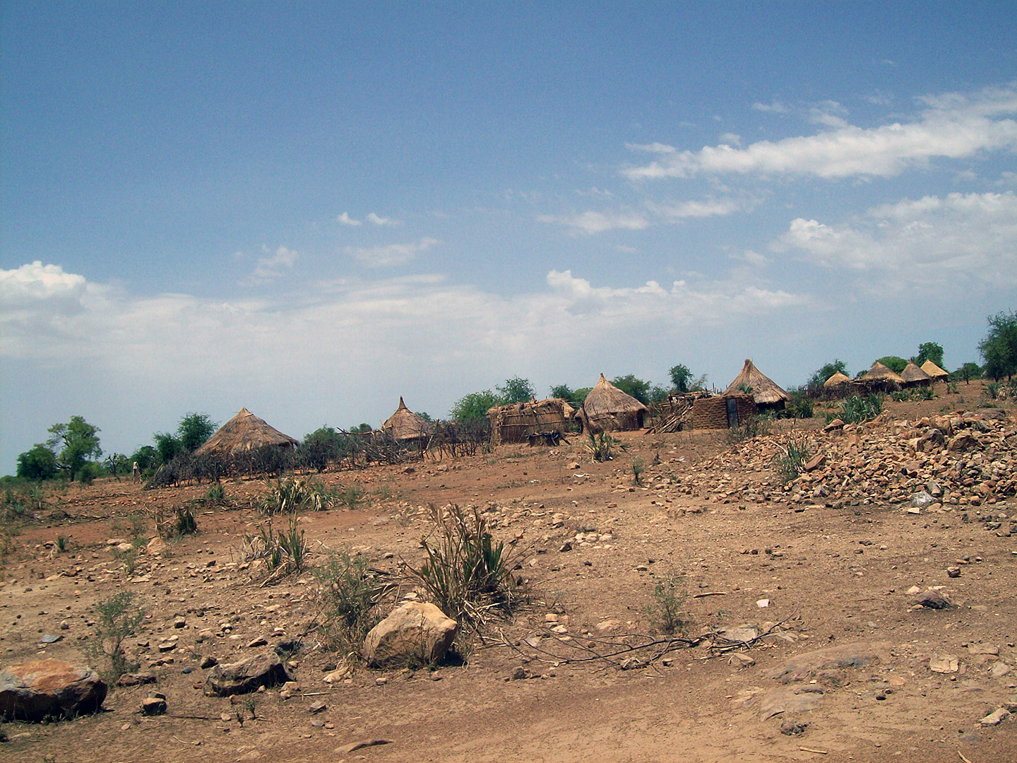 Sudanese village. Courtesy Yaunis Andini