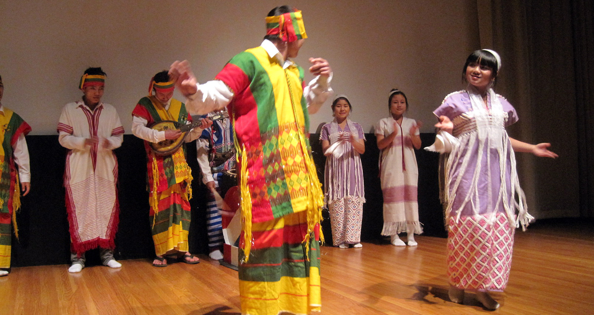 Traditional Karen dance. Courtesy Christine Lesiak